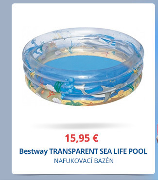 Bestway TRANSPARENT SEA LIFE POOL