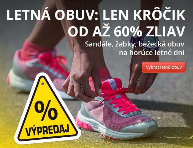 VÝPREDAJ  Letná obuv  Vymeňte ošúchané za NOVÉ! Až 60% zľavy ... 14e7e1da794