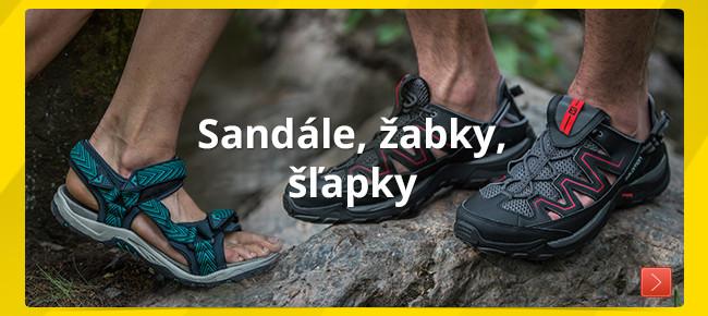 Sandále, žabky, šľapky
