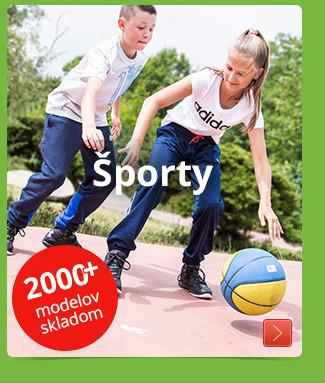 Športy 2000+ modelov skladom