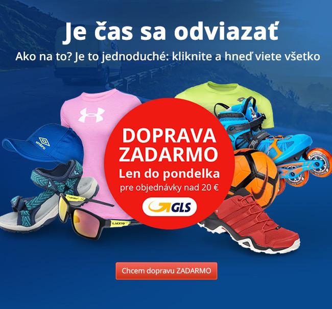 Doprava ZADARMO nad 20 € s GLS
