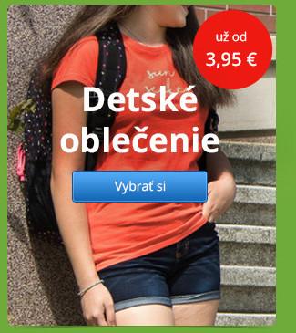 Detské oblečenie už od 3,95 €