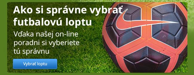 Výber futbalovej lopty
