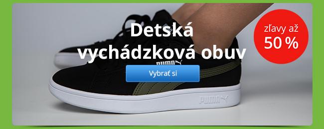 Detská vychádzková obuv – zľavy až 50 %