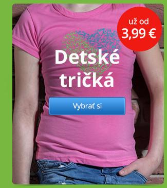 Detské tričká – už od 3,99 €