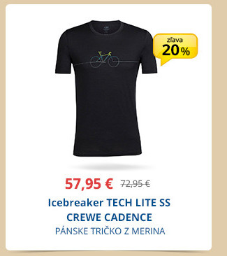 Icebreaker TECH LITE SS CREWE CADENCE