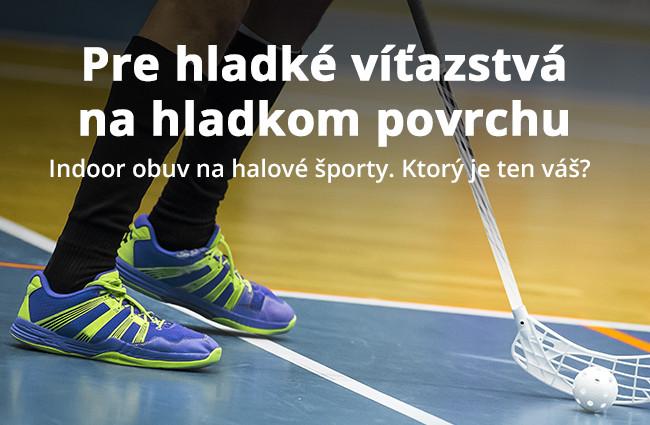 Indoor obuv na halové športy