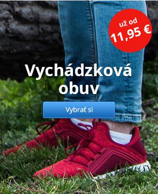 Vychádzková obuv – už od 11,95 €