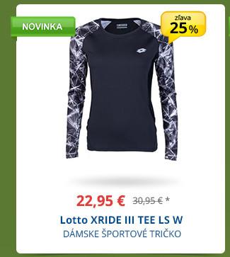 Lotto XRIDE III TEE LS W