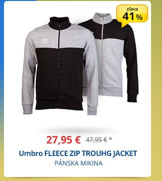 Umbro FLEECE ZIP TROUHG JACKET