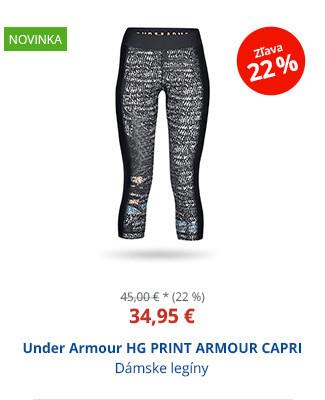 Under Armour HG PRINT ARMOUR CAPRI