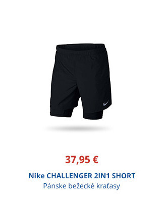 Nike CHALLENGER 2IN1 SHORT