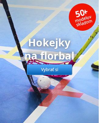 Hokejky na florbal – 50+ modelov skladom