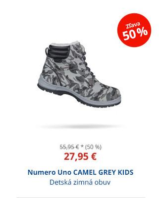 Numero Uno CAMEL GREY KIDS