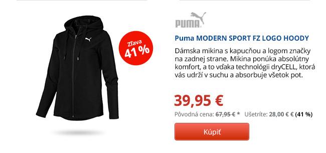 Puma MODERN SPORT FZ LOGO HOODY
