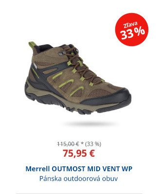 Merrell OUTMOST MID VENT WP