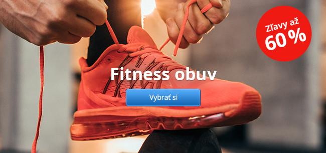 Fitness obuv – zľavy až 60 %