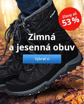 Zimná a jesenná obuv – zľavy až 53 %