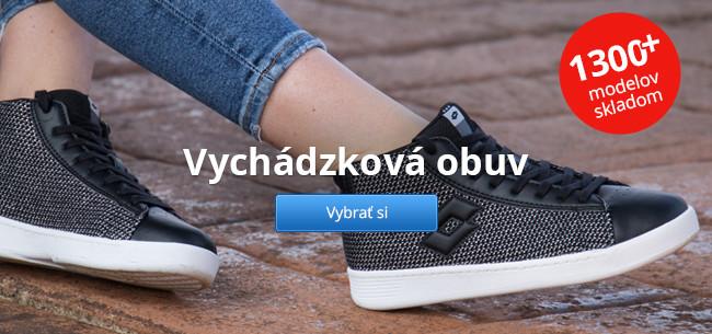 Vychádzková obuv – 1300+ modelov skladom