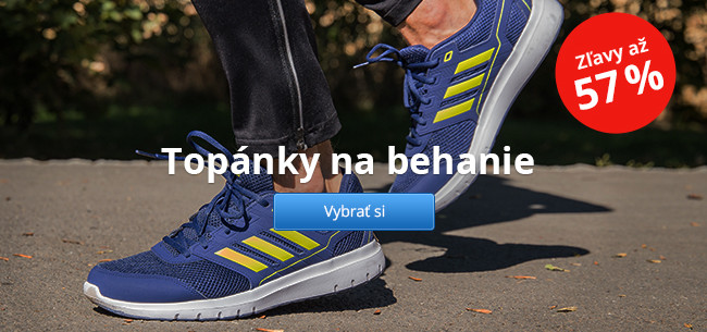 Topánky na behanie - zľavy až 57 %