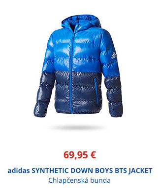 adidas SYNTHETIC DOWN BOYS BTS JACKET