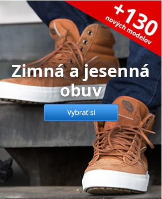 Zimná a jesenná obuv – 130 nových modelov