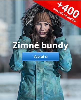 Zimné bundy – 400 nových modelov