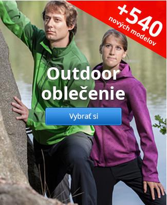 Outdoor oblečenie – 540 nových modelov