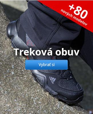 Treková obuv – 80 nových modelov