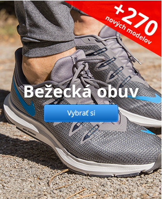 Bežecká obuv – 270 nových modelov