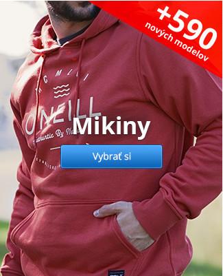 Mikiny – 590 nových modelov