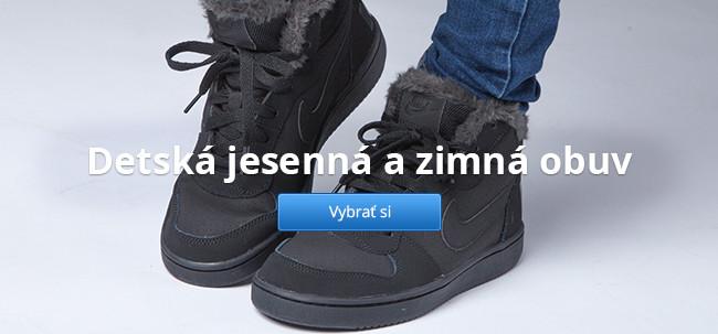 Detská jesenná a zimná obuv