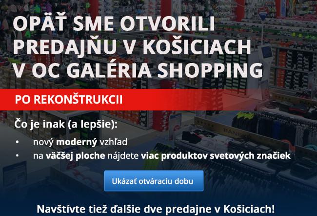 Opäť sme otvorili predajňu v Košiciach v OC Galéria Shopping