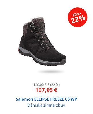 Salomon ELLIPSE FREEZE CS WP