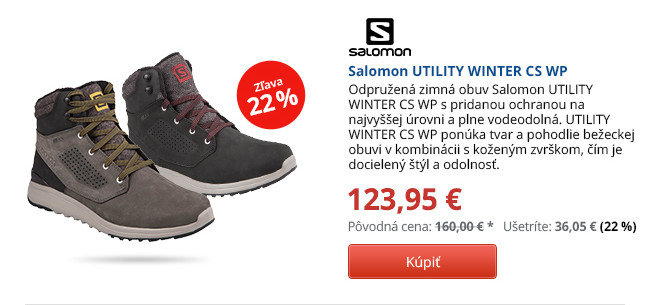 Salomon UTILITY WINTER CS WP