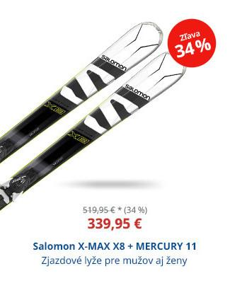 Salomon X-MAX X8 + MERCURY 11