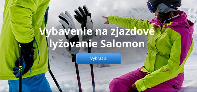 Vybavenie na zjazdové lyžovanie Salomon