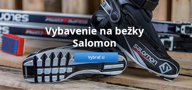 Vybavenie na bežky Salomon