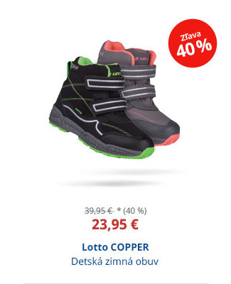 Lotto COPPER