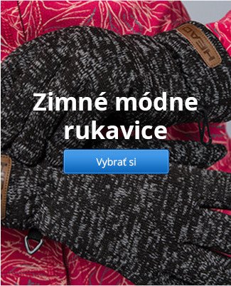 Zimné módne rukavice