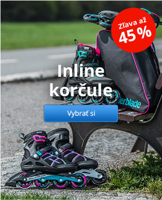 Inline korčule - zľavy až 45 %