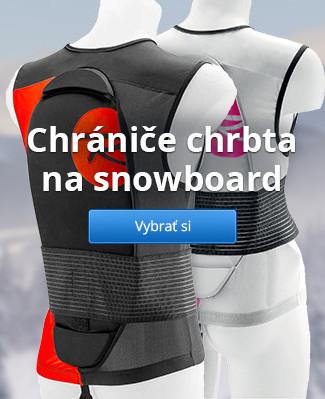 Chrániče chrbta na snowboard
