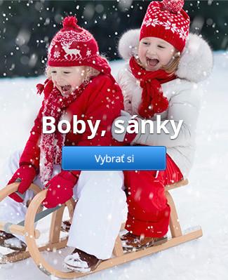 Boby, sánky