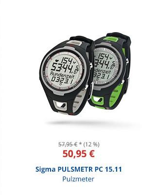 Sigma PULSMETR PC 15.11