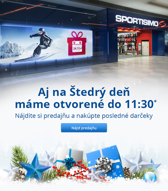 Sportisimo predajne Slovensko