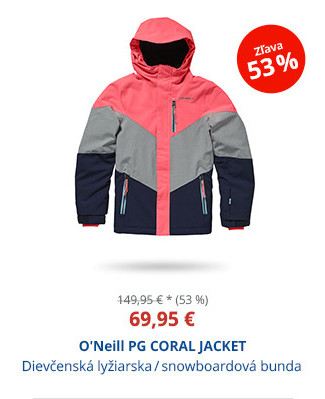 O'Neill PG CORAL JACKET
