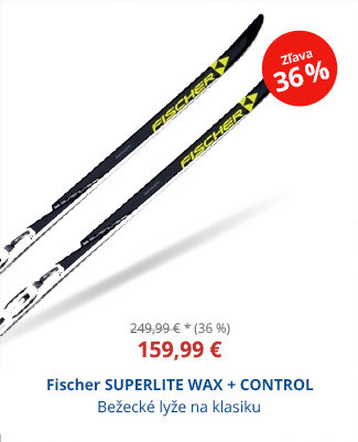 Fischer SUPERLITE WAX + CONTROL