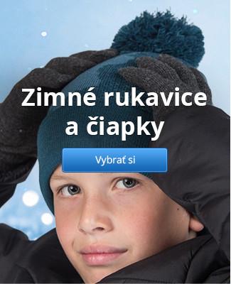 Zimné rukavice a čiapky