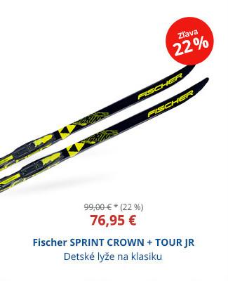 Fischer SPRINT CROWN + TOUR JR