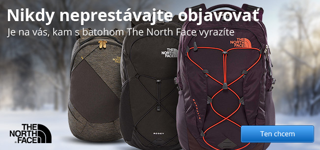 The North Face batohy